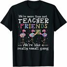 We're More Than Just Teacher Friends Flamingo T-shirt Funny Vintage Gift For Men