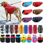Waterproof Pets Dogs Costume Padded Vest Jackets Winter Warm Raincoat Apparel US