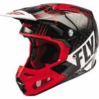 Fly Racing Formula Carbon Vector Helmet - Black/Red/White, All Sizes