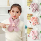 Baby Scarf Children Girls Boys Thick Neckerchief Cartoon Winter Warm Plush