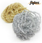 Flybox Synthetic 3mm Comp Special Metallic Chenille Silver or Gold 3m Fly Tying