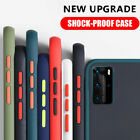 Shockproof Hard Matte Back Case Cover For Samsung S20 FE Note 20 Ultra A21S A71