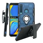 For Samsung Galaxy A50 A30/20 A9 A8 A7 A5/3 Magnetic Ring Belt Clip Holster Case