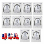 100pcs/10pack Dental Orthodontic Super Elastic Niti Arch Wire Round Ovoid Form