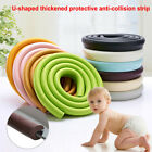 Proofing Edge Guard Foam Rubber Protector Bumper Strip Extra Thick U-shaped Home