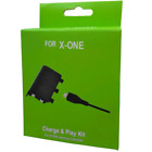 Battery Pack +Charger Cable For Microsoft Xbox 360 & Xbox ONE Wireles Controller