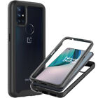 For OnePlus Nord N10 5G Phone Case Full Body Slim Military Grade Clear Cover