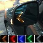 2 Auto Car Side Rear View Mirror Turn Signal Light Accessories Many Colors