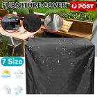 Waterproof Furniture Cover Outdoor Yard Uv Garden Table Chair Shelter Protector