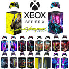 Vinyl Xbox Decal Skin Stickers For Xbox Series X Console And Two Controller Set