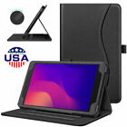 For Alcatel Joy Tab 2 Tablet 8 inch 2020 Case Multiple Angle Folio Stand Cover