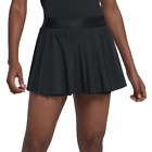 New Nike Women's Court Victory Tennis Skirt Black New With Tags Fast Free Ship