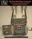 """Alaska Guide Creations (AGC) Bino Harness Specific """"LANYARDS"""" (2 colors)"""