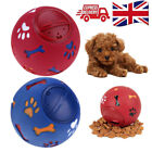Pet Dog Tough Treat Ball Novelty Food Dispenser Puppy Puzzle Fun Interactive Toy