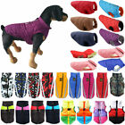 Puppy Pet Dog Vest Clothes Puffer Padded Jacket Coat Winter Warm Apparel Costume