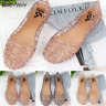 Lady Girl Sandal Women Casual Jelly Shoes Sandal Flat Hollow Out Mesh Flat 36-40