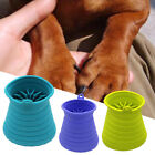 Dog Paw Cleaner Silicone Pet Foot Practical Washer Cup Gloves Soft Solid Massage