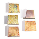 50 Sheets of Colorful Gold Leaf Leaves for Crafts Design Gilding Frame