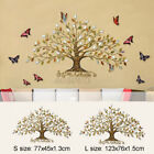 Au Tree Of Life Wall Hanging Metal Leaves Ornament Sculptures Home Garden Decor