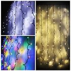 Christmas+LED+Curtain+Connectable+String+Window+Fairy+Lights+Holiday+Waterproof