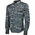 Speed And Strength Call To Arms Moto Shirt - Blue Camo, All Sizes