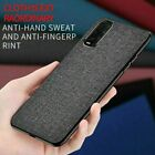 Slim Fabric Canvas Cloth Leather Back Case Cover For OPPO Find X2 Pro Neo Lite