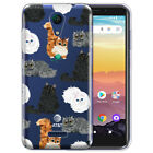 """For AT&T Calypso U318AA 5.5"""" 2020 Transparent Clear Soft Silicone TPU Case Cover"""