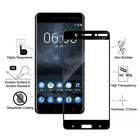 Full Glue Cover Tempered Glass For Nokia 9 Pureview 6.2 7.2 1.3 2.3 5.3 8.3 4.2