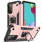 For Samsung Galaxy A52 A72 4G 5G Case Ring Holder Stand Cover/Screen Protector