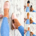 Ladies Flat Espadrille Sandals Peep Toe Summer Holiday Casual Flat Shoes