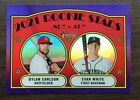 2021 Topps Heritage Hot Box Purple Chrome Refractor Parallel ~ Pick your Card