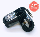 LOT 10/100 Type-C Micro USB Fast Charging Cable For OEM Samsung Phone Android BK