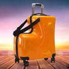Kid Riding Suitcase Children Trolley Ride On Suitcase Boy Travel Spinner Luggage
