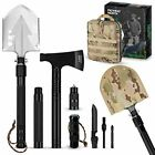 Pathway North Survival Shovel and Camping Axe – Stainless Steel Multi-Tool and