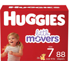 Huggies Little Movers Diapers (Choose Your Size) FREE SHIPPING