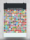 All Flags Of The World Poster -Image by Shutterstock