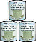 CHALK PAINT EGG SHELL BLUE TIN QUALITY SMOOTH CHALKY FINISH FURMITURE DIY 250ML
