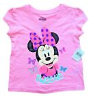 MINNIE MOUSE DISNEY Pink Short Sleeve Tee T-Shirt Toddler's Sz. 2T, 3T or 4T 15