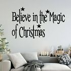 Personalized Christmas Home Decorations Pvc Decal Decor Living Room Bedroom