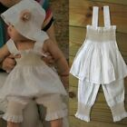 Lovely+Baby+Girls+3+piece+set+Top%2C+Trousers+and+a+Hat+3-6+Months