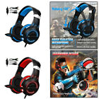 LED Colorful Over Ear Gaming Headset with MIC Headphones Noise Cancelling