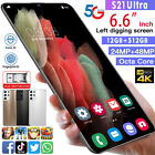 6.6inch Mobile Phone Android 10.0 Hd Screen 12g + 512gb Dual Sim 5g Smartphone