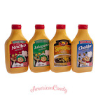 3x440ml USA Squeeze Cheese Sauce  Nacho Cheddar Jalapeno Chipotle  (12,11€/l)