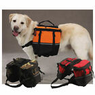 Dog Backpack Hiking Harness Pet Pack Pouch MED LG