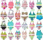 TWO PIECE SWIMSUIT GIRLS BATHING SUIT CHILDRENS KIDS YOUTH SUMMER TEENS 2 PC