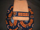 CHICAGO BEARS BOWLING SHOE COVERS-- & FIBRE TOWEL