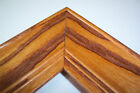 """2"""" Wide Solid Sunset Oak Picture Poster Frame-Panoramic"""