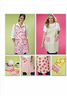 McCall's 6092 Out Of Print Sewing Pattern to MAKE Apron, Tivet & Oven Mitt
