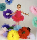 Внешний вид - NWT 3 Layer Organdy Ballet Tutu Pullup Elastic Band Many Color Choices Girls Szs