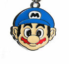 Super Mario Red or Blue Heads Cell Phone charm dust plug